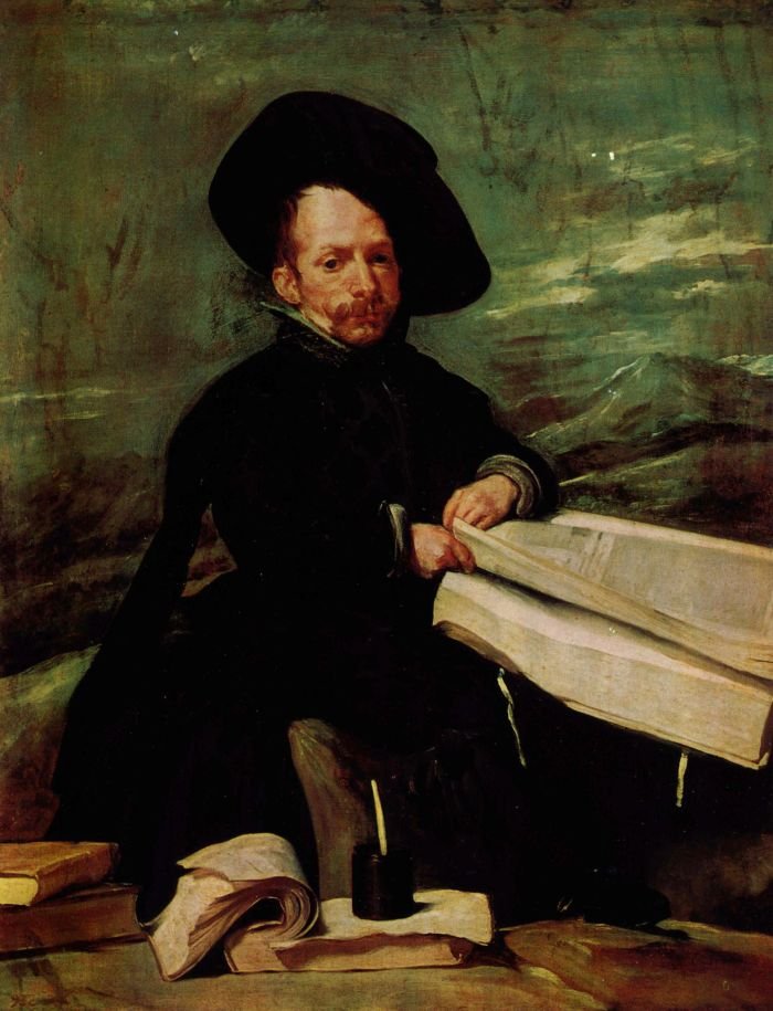 Velázquez, Diego: Porträt des Hofnarren »El Primo«