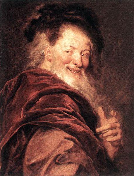 Antoine Coypel (1661 - 1722) - Democritus.