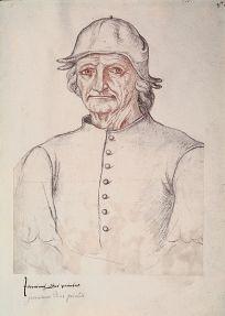 Porträt Hiernonymus Bosch