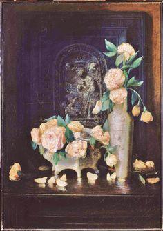 Julian Alden Weir - roses 1883