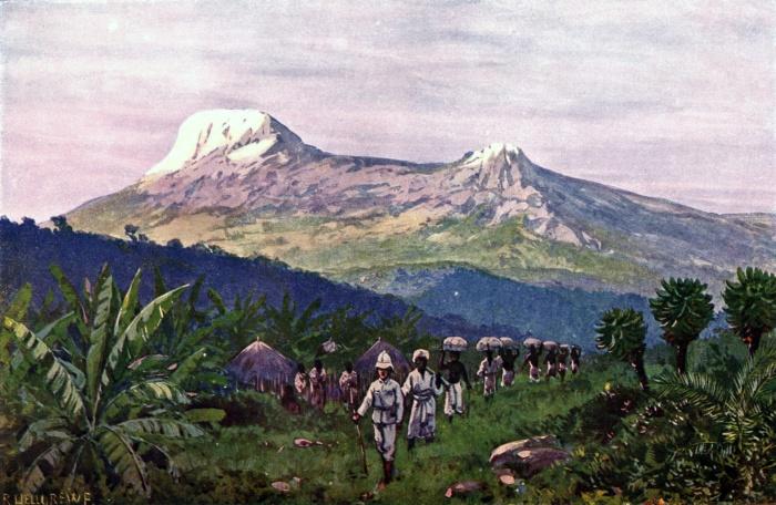 Rudolf Hellgrewe - Der Kilimandscharo