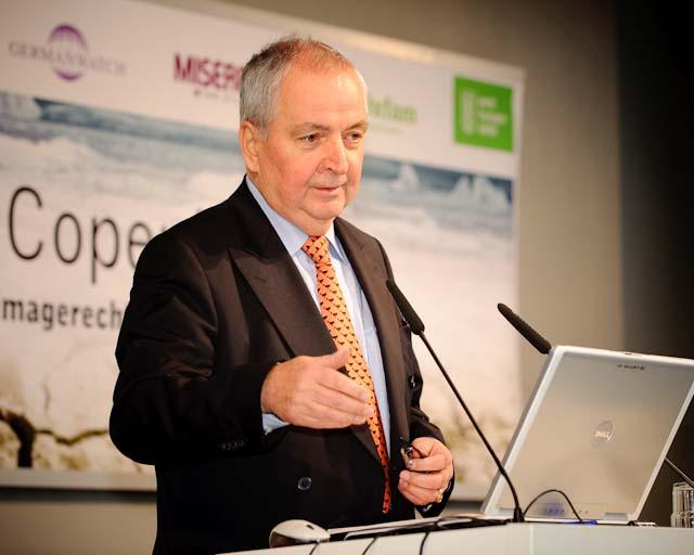 Prof. Klaus Töpfer – Vortrag auf einer Konferenz der Heinrich-Böll-Stiftung