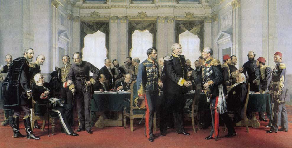 Berliner Kongress - Schlußsitzung am 13. Juli 1878 - Anton Alexander von Werner