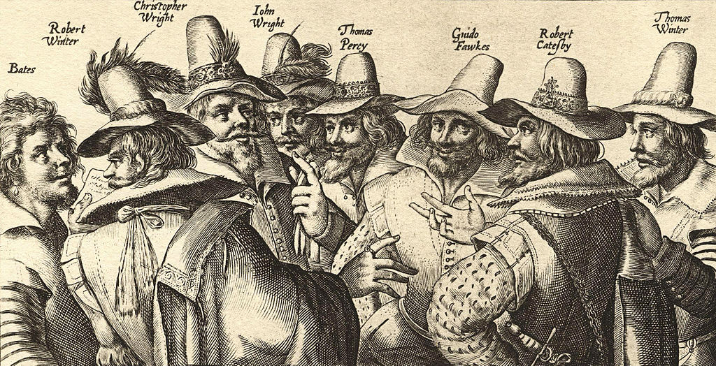 Crispin der Ältere 1605 - Gundpowder Plot