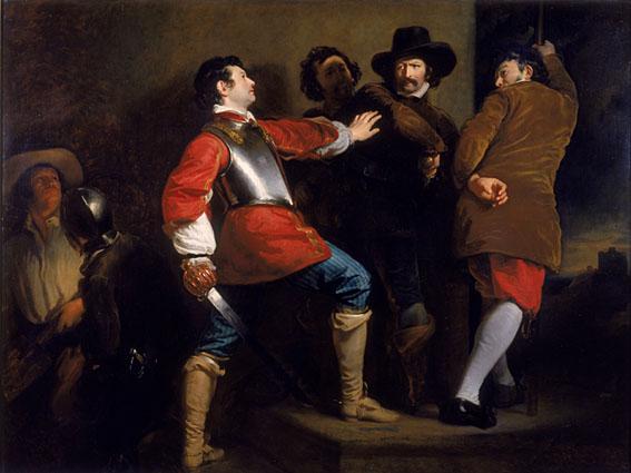 Henry Perronet Briggs - Die Verhaftung des Guy Fawkes